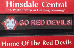 Hinsdale Marquee